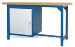 00853630 Stół warsztatowy, 1 drzwi (wymiary: 1500x900x740 mm)