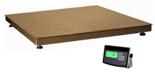 04048962 Waga platformowa ze stali szlachetnej z legalizacją (nośność: 1500 kg, podziałka: 500 g, wymiary: 1250x1500 mm)