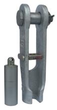 33948530 Złącze klinowe zakuwane SCS 40 (udźwig: 8 T, średnica liny: 16-19 mm)