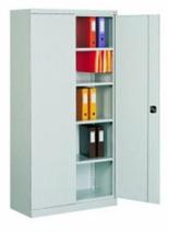 99551656 Szafa biurowa 0,7mm, 2 drzwi, 4 półki (wymiary: 1990x1200x435 mm)