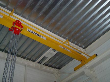DOSTAWA GRATIS! 95848210 Wciągnik łańcuchowy przejezdny - wersja przeciwwybuchowa (udźwig: 0,5 T, wysokość podnoszenia: 3m)