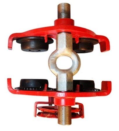 Wózek ręczny jezdny z łańcuszkiem i napędem (udźwig: 0,5 T, szerokość belki jezdnej: 50-203 mm, wysokość łańcucha manewrowego: 3m) 03076122