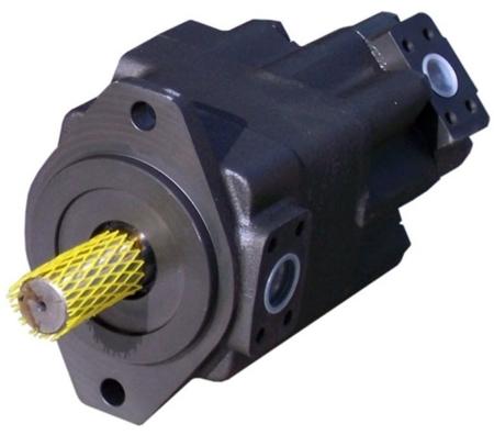 DOSTAWA GRATIS! 01539199 Pompa hydrauliczna łopatkowa dwustrumieniowa B&C (objętość geometryczna: 81,6 + 55,2 cm³, maks obrotowa: 1800 min-1 /obr/min)