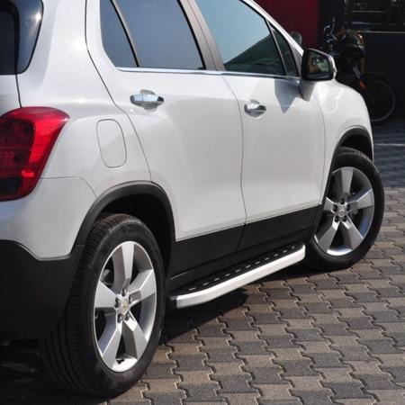 DOSTAWA GRATIS! 01655681 Stopnie boczne - Chevrolet Trax (długość: 161 cm)