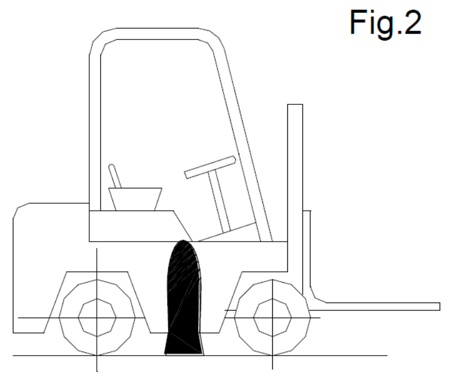 DOSTAWA GRATIS! 310658 Podnośnik hydrauliczny wózków widłowych (udźwig: 7 T)