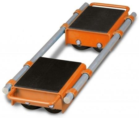 DOSTAWA GRATIS! 32240166 Podwójne rolki transportowe Unicraft (udźwig: 6 t)