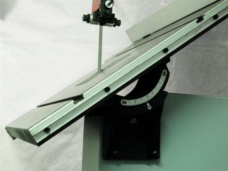 DOSTAWA GRATIS! 44349943 Piła taśmowa Holzmann 230V (wymiary obrabianego przedmiotu: 490/285 mm, wymiary blatu: 770x500 mm)