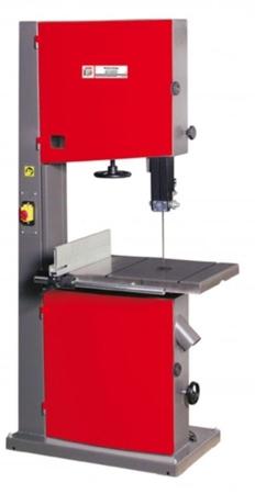 DOSTAWA GRATIS! 44349946 Piła taśmowa do drewna Holzmann 400V (wyładowanie / max szer. cięcia: 550 mm, wymiary stołu: 633x485 mm)