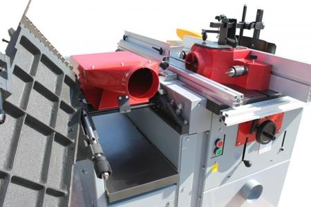 DOSTAWA GRATIS! 44349970 Urządzenie wielofunkcyjne Holzmann 400V (szerokość/wysokość obróbki: 245/5-195 mm, długość blatu: 1090 mm)