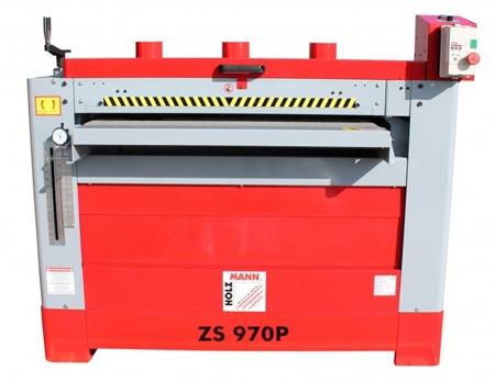 DOSTAWA GRATIS! 44350041 Szlifierka szerokotaśmowa dwu walcowa Holzmann 230V (max szer. szlifowania: 970 mm)