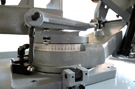 DOSTAWA GRATIS! 44350086 Piła taśmowa do cięcia metalu Holzmann (prędkość cięcia: 24 - 41 - 61 - 82 m/min, wymiary taśmy: 2360x20x0,9 mm, moc: 1,1 kW)