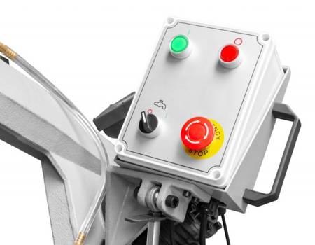 DOSTAWA GRATIS! 44350087 Piła taśmowa do cięcia metalu Holzmann 230V (wymiary taśmy: 2080x20x0,9mm, moc: 1050 W)