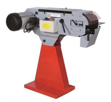 DOSTAWA GRATIS! 44350102 Szlifierka taśmowa do metalu Holzmann (wymiary taśmy: 2000x150 mm, prędkość taśmy: 18/37m/min, moc: 6 kW)