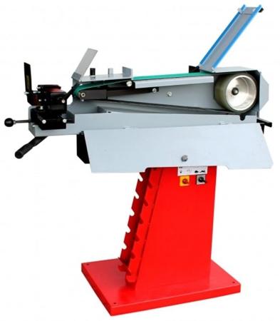 DOSTAWA GRATIS! 44353112 Kombinowana szlifierka taśmowa do metalu Holzmann (wymiary taśmy: 1000x200 mm, prędkość taśmy: 15/30 m/sek , moc: 2,5/3,3 kW)