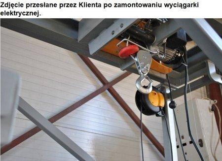 DOSTAWA GRATIS! 55938124 Wyciągarka linowa elektryczna Industrial 125/250 230V, hamulec automatyczny (udźwig: 125/250 kg)