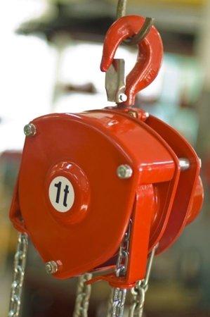 DOSTAWA GRATIS! 9588149 Wciągnik łańcuchowy stacjonarny (udźwig: 1,5 T, wysokość podnoszenia: 3m)