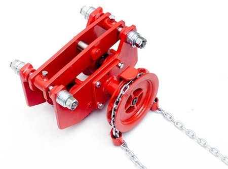 DOSTAWA GRATIS! 9588171 Wózek szynowy do wciągników przejezdnych (udźwig: 3,2 T, wysokość podnoszenia: 3m, zakres toru jezdnego: 106-170 mm)