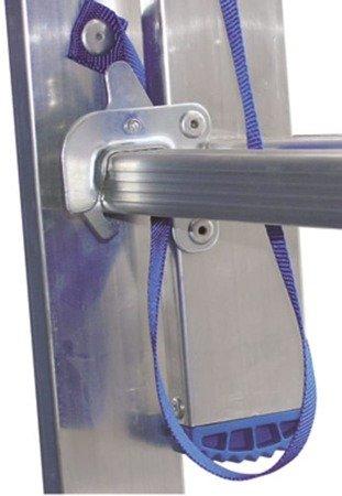 DOSTAWA GRATIS! 99674738 Drabina 2-elementowa aluminiowa Drabex 2x7 (wysokość robocza: 4,59m)