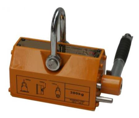 IMPROWEGLE Chwytak magnetyczny z magnesem stałym PKN 1,0 (udźwig: 1 T) 3398530