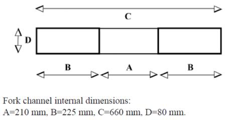 Kosz roboczy do wózka widłowego GermanTech (wymiary: 1200x800 mm) 99724903