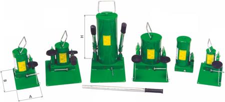 Pompa hydrauliczna ręczna (pojemność zbiornika: 2,0 dm3) 62725752