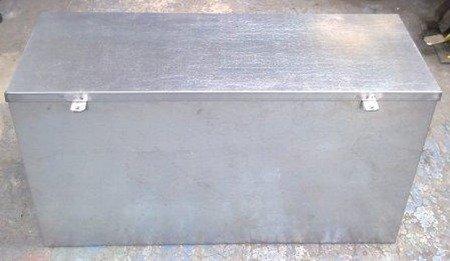 Skrzynia narzędziowa ocynkowana (nośność: 500 kg, wymiary: 600x600x1250 mm) 77176781