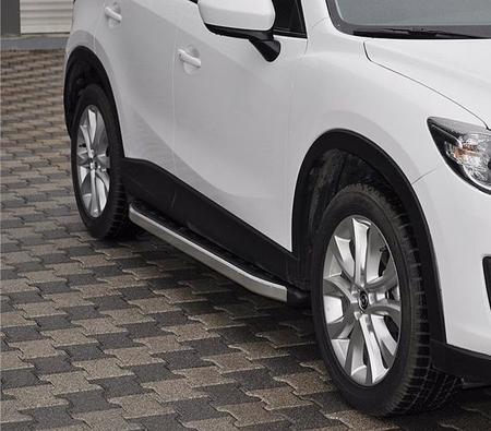 Stopnie boczne - Mazda CX-7 (długość: 171-182 cm) 01655727