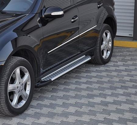 Stopnie boczne - Mercedes ML W164 2004-2011 (długość: 193 cm) 01656044