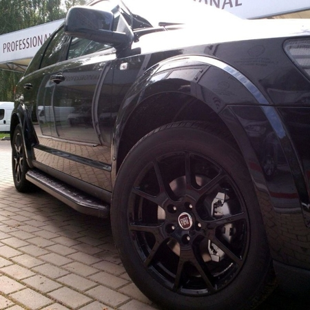 Stopnie boczne, czarne - Land Rover Range Rover Evoque 2011- (długość: 171 cm) 01655933