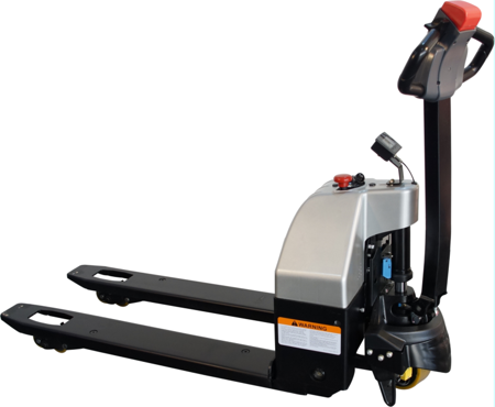 Wózek paletowy elektryczny z wagą (długość wideł: 1150 mm, udźwig: 1500 kg) 31046306