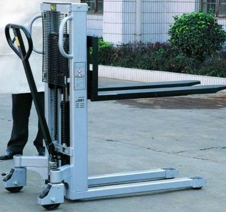 Wózek podnośnikowy ręczny (maszt pojedyńczy, udźwig: 1000 kg) 310502