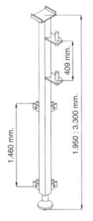 Wysoki maszt do wyciągarki 08115187