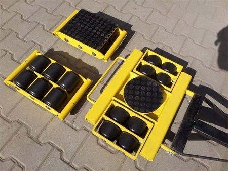 Zestaw wózków, rolki: 20x stal (nośność: 36 T) 12235623